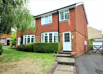 Thumbnail 3 bed semi-detached house for sale in Lindens Close, Leatherhead