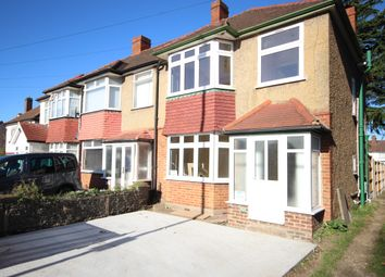 Thumbnail 3 bed semi-detached house to rent in Brentwood Road, Romford