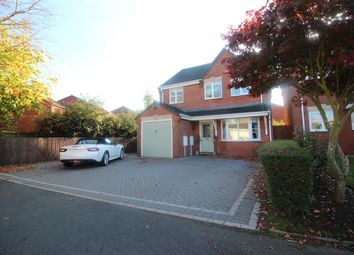 Thumbnail 4 bed detached house for sale in Moor Close, Burntwood