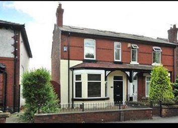Thumbnail 4 bed semi-detached house to rent in Chester Road, Warrington