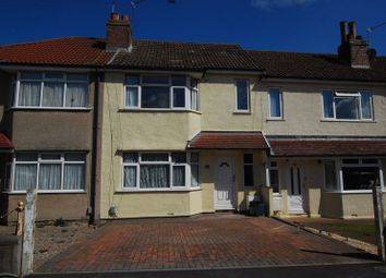 Thumbnail 4 bed terraced house to rent in Wallscourt Road South, Filton, Bristol
