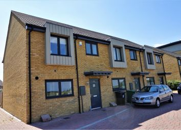 Thumbnail 3 bed end terrace house for sale in Riverside Wharf, Dartford