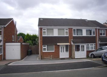 Thumbnail 3 bed semi-detached house to rent in Lotus, Tamworth