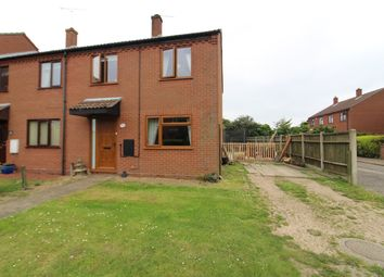 Thumbnail 3 bed end terrace house for sale in Youngs Crescent, Freethorpe, Norwich