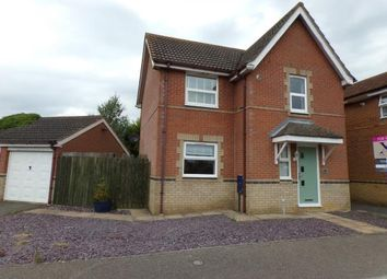 Thumbnail 3 bed detached house for sale in Brasenose Drive, Brackley, Northamptonshire