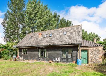 Thumbnail 3 bed barn conversion for sale in Beachamwell, Swaffham