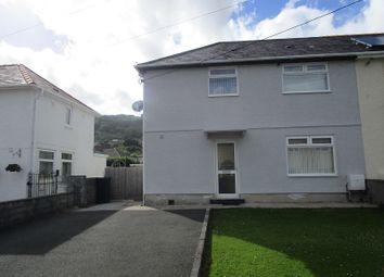 Thumbnail 3 bedroom semi-detached house for sale in Minyffordd, Ystalyfera, Swansea.