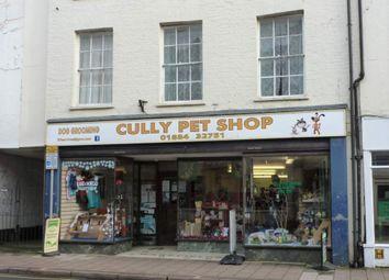 Thumbnail Retail premises for sale in Cullompton, Devon