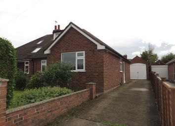 Thumbnail 3 bedroom bungalow to rent in Back Lane, Knapton, York
