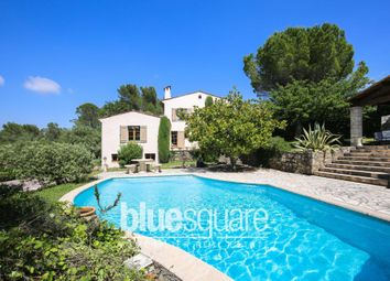 Thumbnail 4 bed villa for sale in Valbonne, Alpes-Maritimes, 06560, France