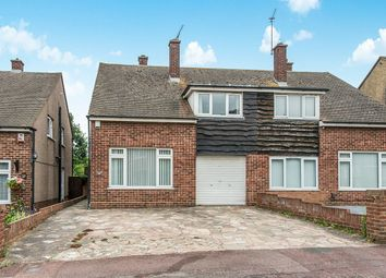 Thumbnail 3 bed semi-detached house for sale in Chalky Bank, Gravesend