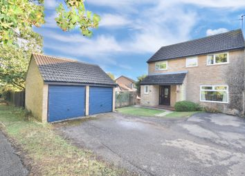 Thumbnail 4 bed detached house for sale in Glastonbury Close, Kettering