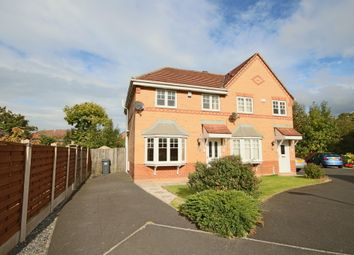 Thumbnail 3 bed semi-detached house to rent in Cloughfield, Penwortham, Preston