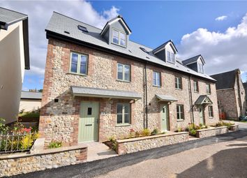 Thumbnail 3 bed end terrace house for sale in St. Andrews Field, Chardstock, Axminster, Devon