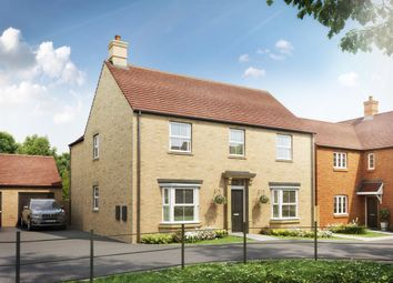 "Thumbnail 4 bed detached house for sale in ""The Whittlebury"" at Heathencote, Towcester"