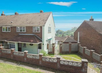 Thumbnail 2 bed end terrace house for sale in St David's Avenue, Dover