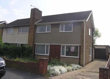 Thumbnail 3 bed semi-detached house to rent in Dewsbury Avenue, Scunthorpe