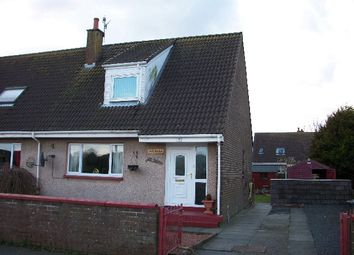 Thumbnail 3 bed semi-detached house for sale in 7 Millview Terrace Lochans, Stranraer