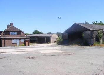 Thumbnail Land for sale in Former Uttoxeter Highways Depot, Stafford Road, Uttoxeter, Staffordshire