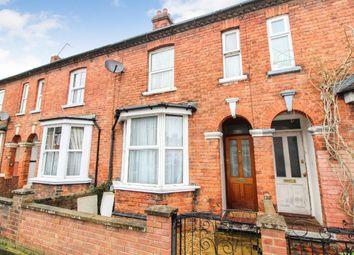 Thumbnail 3 bedroom terraced house for sale in Sandhurst Road, Bedford