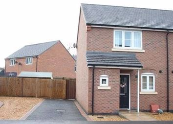 Thumbnail Semi-detached house to rent in Rye Hill Drive, Sapcote