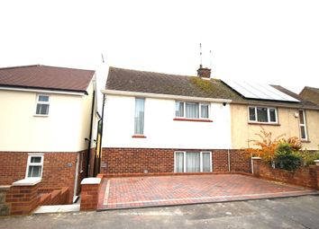 Thumbnail 2 bed semi-detached house for sale in Stanley Crescent, Gravesend
