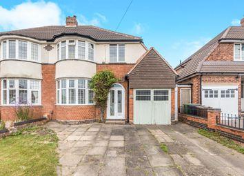 Thumbnail 3 bed semi-detached house for sale in Hawthorne Road, Castle Bromwich, Birmingham