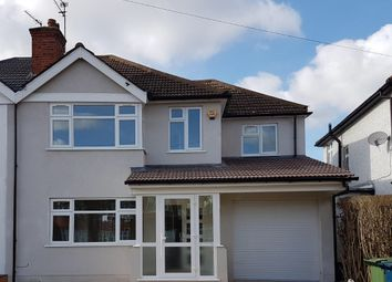 Thumbnail 4 bed semi-detached house to rent in Lyndon Avenue, Hatch End, Pinner