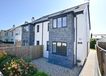 Thumbnail 3 bed semi-detached house for sale in Clements Road, Penzance