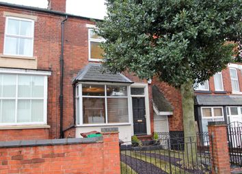 Thumbnail 3 bed terraced house to rent in Burgass Road, Thorneywood, Nottingham