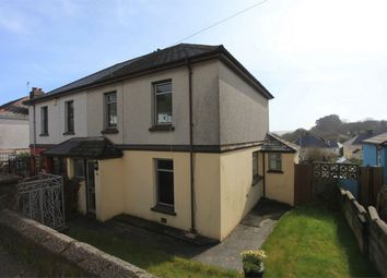 Thumbnail 3 bed semi-detached house for sale in Rose Hill, St Blazey, Par, Cornwall