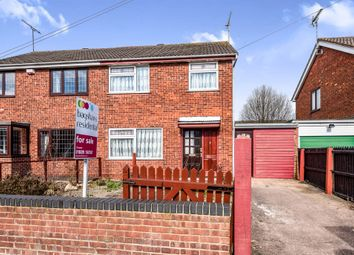 Thumbnail 3 bed semi-detached house for sale in Byrds Lane, Uttoxeter