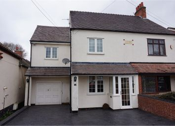 Thumbnail 3 bed semi-detached house for sale in Golden Cross Lane, Bromsgrove