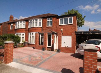 Thumbnail 4 bed semi-detached house for sale in Ashdene Road, Withington, Manchester
