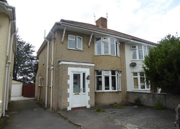 Thumbnail 3 bed semi-detached house for sale in Birchwood Avenue, Weston-Super-Mare