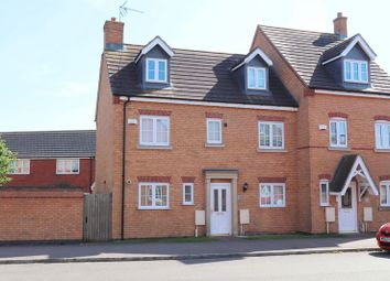 Thumbnail 5 bed semi-detached house to rent in Laughton Drive, Stamford