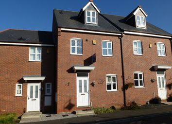 Thumbnail 4 bed town house to rent in Golden Hill, Wychwood Village, Weston, Crewe, Cheshire