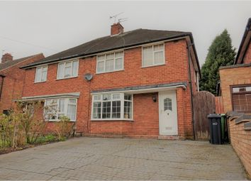 Thumbnail 3 bedroom semi-detached house for sale in Milton Road, Coseley, Bilston