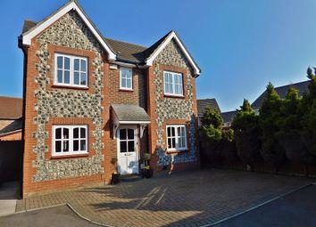 Thumbnail 4 bed detached house for sale in Swanton Close, Stubbington, Fareham