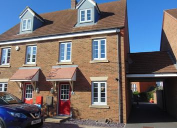 Thumbnail 3 bed town house to rent in Grenadier Way, Singleton, Ashford