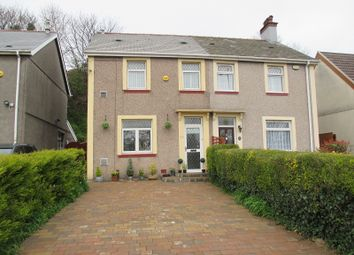 Thumbnail 2 bed semi-detached house for sale in Swan Road, Baglan, Port Talbot, Neath Port Talbot.