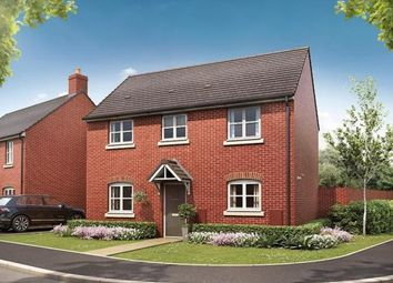 Thumbnail 3 bed detached house for sale in Broughton Chase, Crowfoot Way, Broughton Astley, Leicester