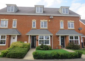 Thumbnail 4 bed terraced house for sale in Ironwood Avenue, Desborough, Kettering