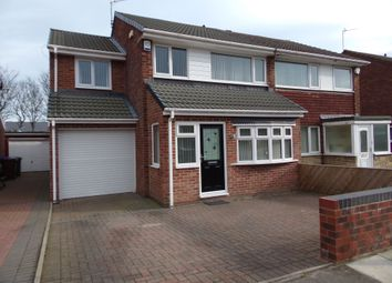 Thumbnail 4 bedroom semi-detached house for sale in Kingfisher Way, Blyth