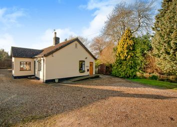 Thumbnail 3 bedroom detached bungalow for sale in Cooks Road, Elmswell, Bury St. Edmunds