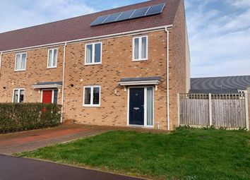 Thumbnail 3 bed semi-detached house to rent in Sandpiper Way, King's Lynn
