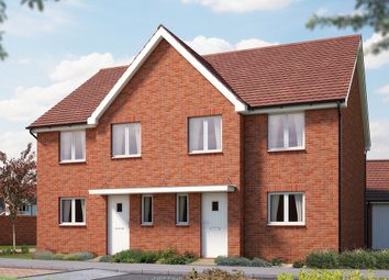 "Thumbnail 4 bed semi-detached house for sale in ""The Salisbury"" at Iden Hurst, Hurstpierpoint, Hassocks"