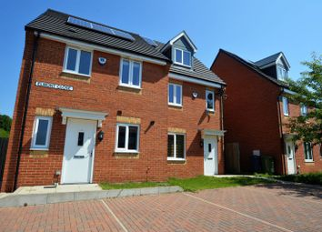 Thumbnail 3 bed end terrace house for sale in Elmont Close, Slatyford, Newcastle Upon Tyne