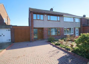 Thumbnail 3 bed semi-detached house for sale in Beech Grove, Springwell, Gateshead