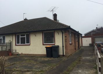 Thumbnail 2 bed bungalow to rent in Vicarage Road, Wilstead, Ref P9652